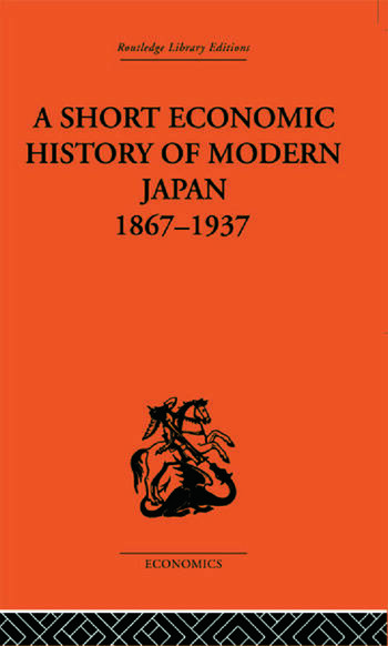 Short Economic History of Modern Japan book cover