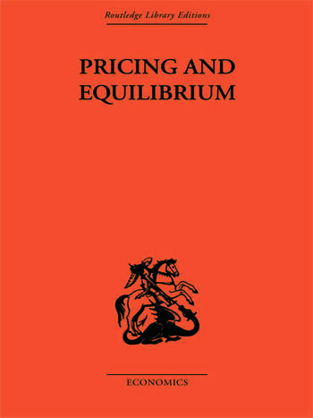Pricing and Equilibrium book cover