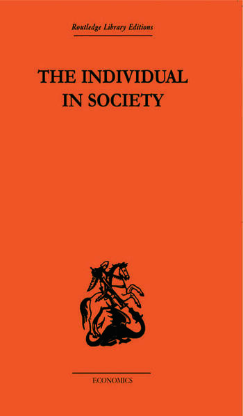 The Individual in Society: Papers on Adam Smith book cover