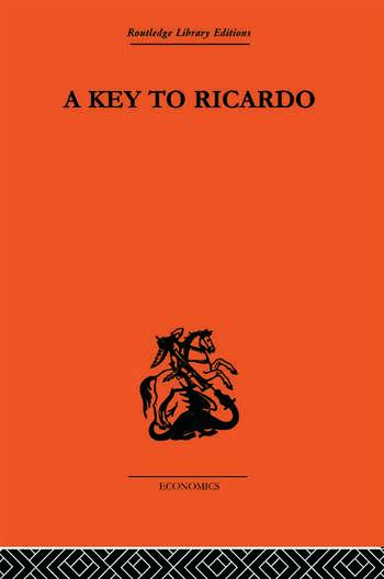 A Key to Ricardo book cover