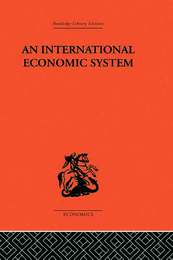 An International Economic System book cover