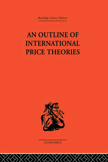 An Outline of International Price Theories book cover