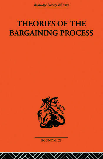 Theories of the Bargaining Process book cover
