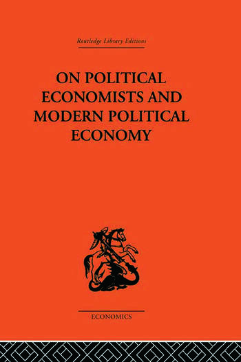 On Political Economists and Political Economy book cover