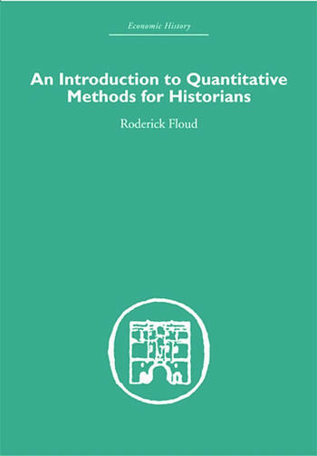 An Introduction to Quantitative Methods for Historians book cover