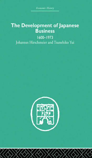 The Development of Japanese Business 1600-1973 book cover