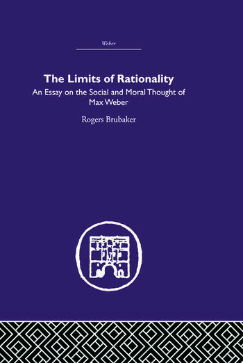 The Limits of Rationality book cover