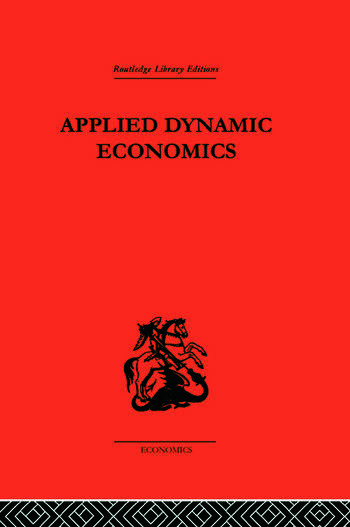 Applied Dynamic Economics book cover