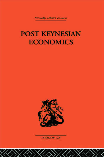 Post-Keynesian Economics book cover