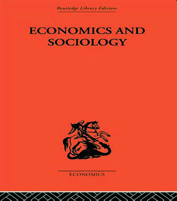 Economics and Sociology book cover