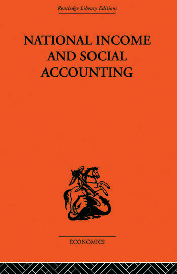 National Income and Social Accounting book cover