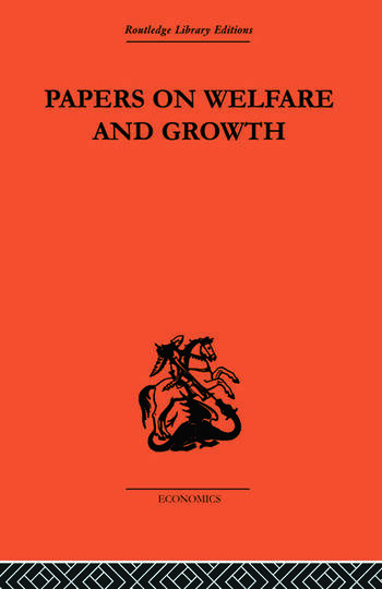 Papers on Welfare and Growth book cover