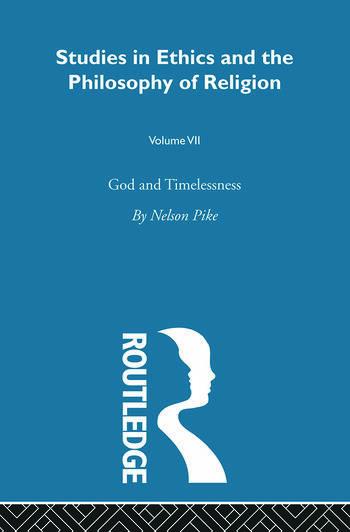 God & Timelessness Vol 7 book cover