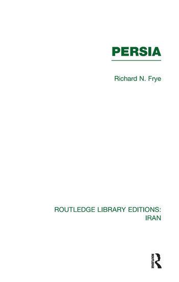 Persia (RLE Iran A) book cover