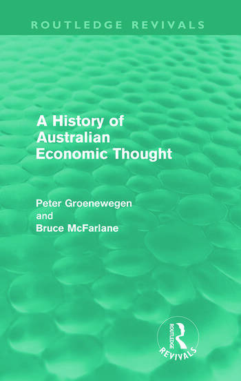 A History of Australian Economic Thought (Routledge Revivals) book cover