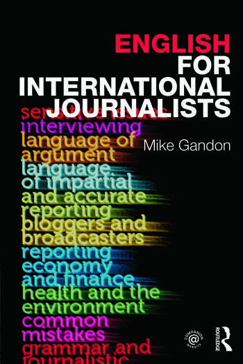 English for International Journalists book cover