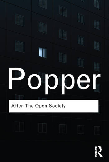 After The Open Society Selected Social and Political Writings book cover