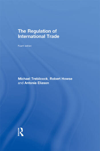 The Regulation of International Trade book cover