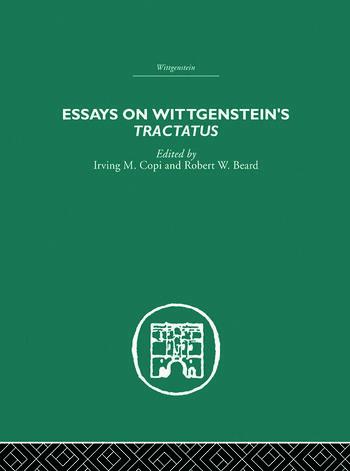 Essays on Wittgenstein's Tractatus book cover