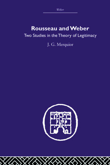 Rousseau and Weber book cover