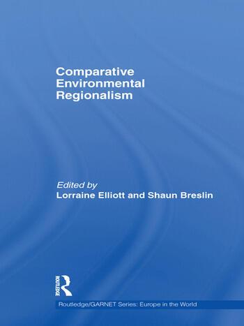 Comparative Environmental Regionalism book cover