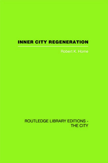 Inner City Regeneration book cover