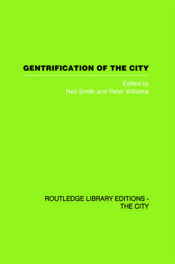 Gentrification of the City book cover