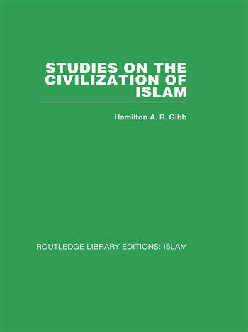 Studies on the Civilization of Islam book cover