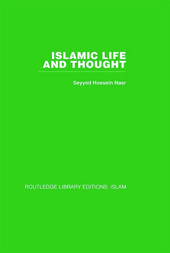 Islamic Life and Thought book cover