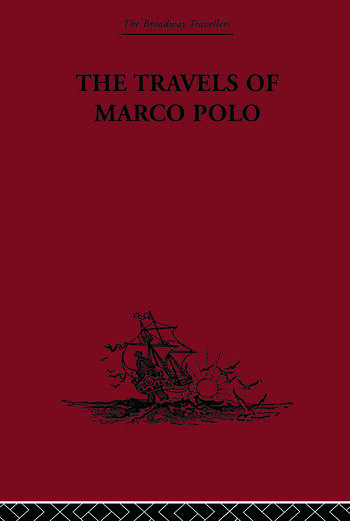 The Travels of Marco Polo book cover