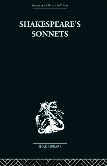 Shakespeare's Sonnets book cover