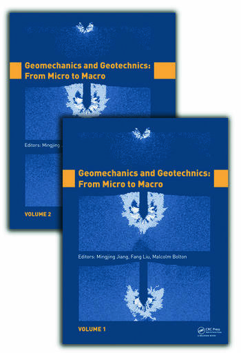Geomechanics and Geotechnics: From Micro to Macro, Two Volume Set book cover
