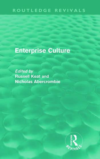 Enterprise Culture (Routledge Revivals) book cover