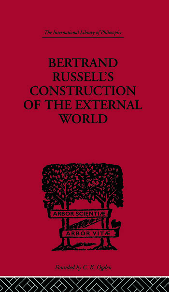 Bertrand Russell's Construction of the External World book cover