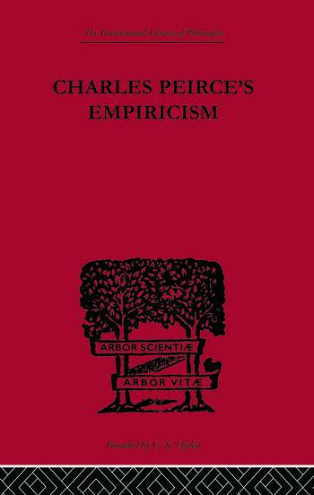 Charles Peirce's Empiricism book cover