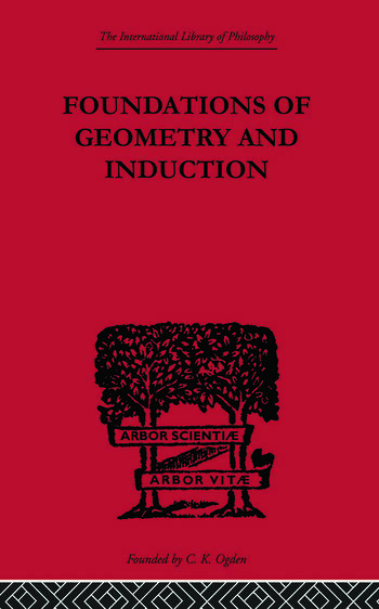 Foundations of Geometry and Induction book cover