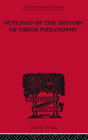 Outlines of the History of Greek Philosophy book cover
