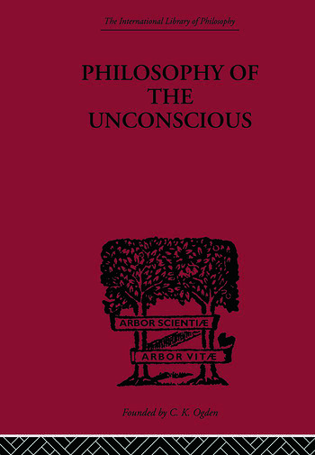 Philosophy of the Unconscious book cover