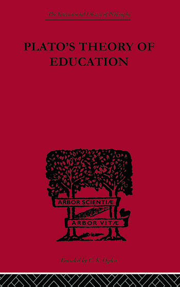 Plato's Theory of Education book cover