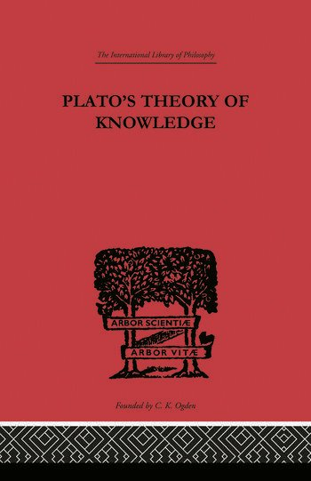 Plato's Theory of Knowledge book cover