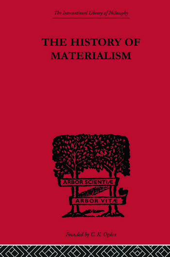 The History of Materialism book cover