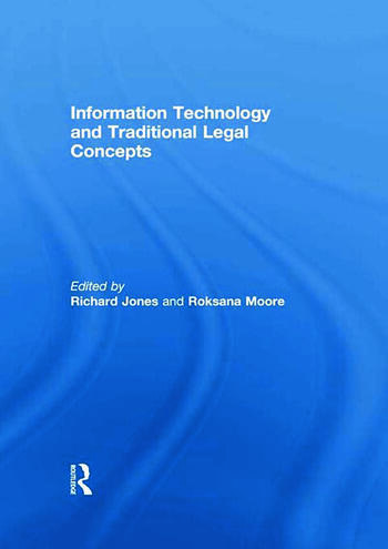 Information Technology and Traditional Legal Concepts book cover