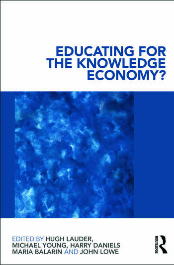 Educating for the Knowledge Economy? Critical Perspectives book cover