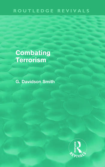 Combating Terrorism (Routledge Revivals) book cover