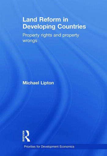 Land Reform in Developing Countries Property Rights and Property Wrongs book cover