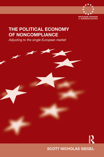The Political Economy of Noncompliance Adjusting to the Single European Market book cover