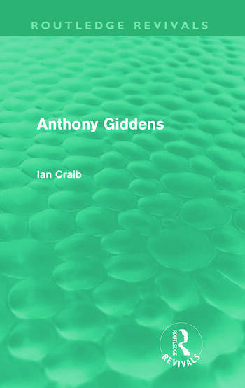 Anthony Giddens book cover