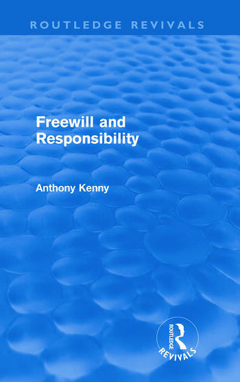 Freewill and Responsibility book cover