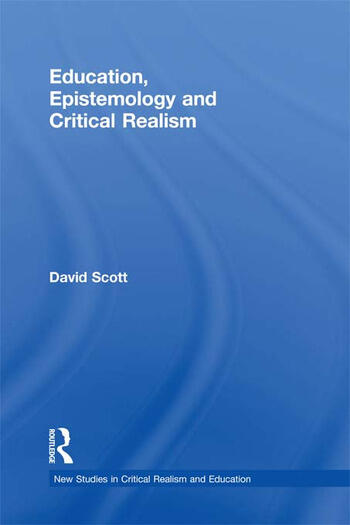 Education, Epistemology and Critical Realism book cover