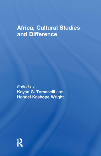 Africa, Cultural Studies and Difference book cover